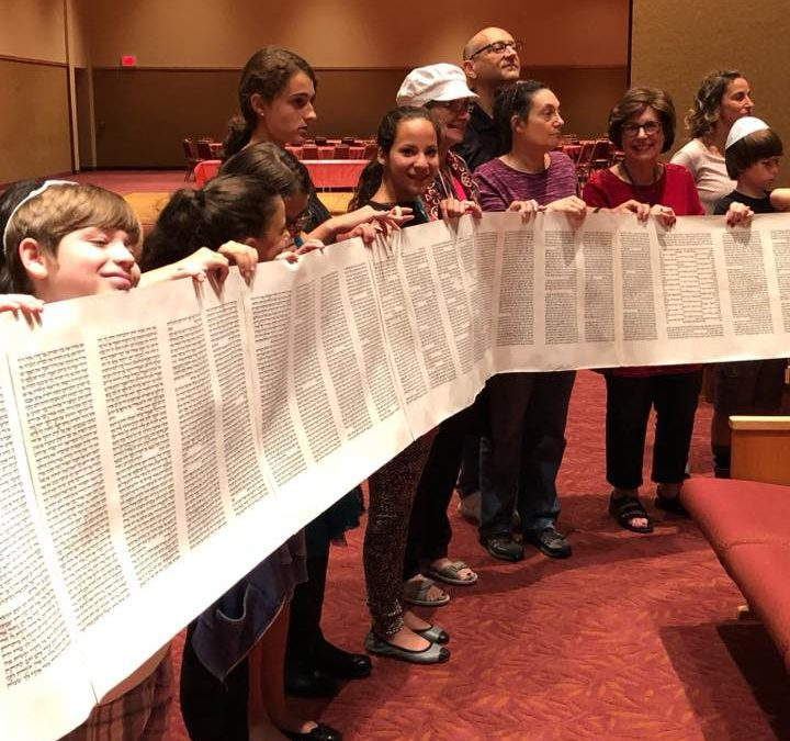 Simchat Torah Services Oct. 20th