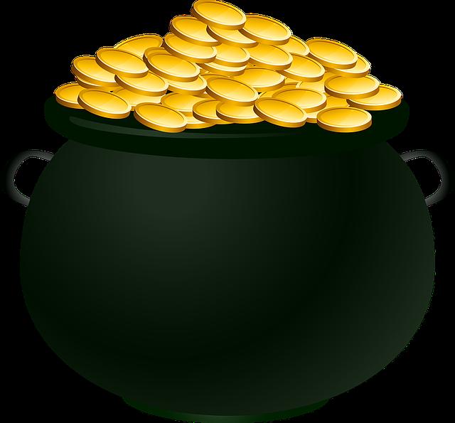 Pot of Gold Winners